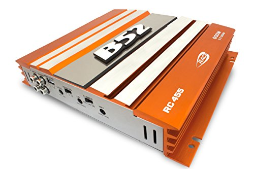 B52CarAudio RC-455 ORANGE 600Watts MOSFET AMPLIFIER