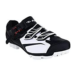 Zol White MTB Indoor Cycling Shoes (40 CM (EU)/7.5 M (US)/ 9 W)