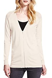 Diamond Back V-Neck Cardigan [T38-7907-S]