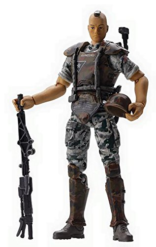 Hiya Toys Aliens Colonial Marine Quintero 1:18 Scale Action Figure