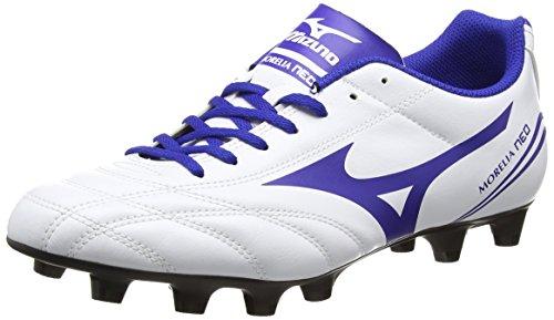 MizunoMORELIA NEO CL MD - Scarpe da calcio, Bianco, 46 EU (11 UK)