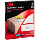 3M Shipping Labels, Laser/InkJet, White, 2 Inches x 4 Inches (125 Sheets per Pack (3300-T))