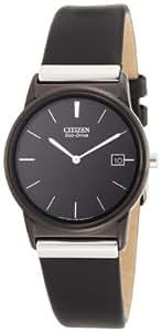 Citizen Men's AU1035-08E Eco-Drive Strap Black Dial Watch