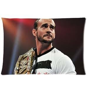 """Amazon.com - CM Punk Pillowcase Standard Size 20""""x30"""" PWC0358 -"""