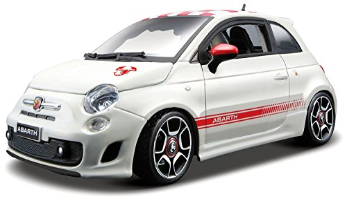 Bburago Highly Detailed 1:24 Abarth 500 Model Build Kit Boys Toy Car Gift (Highly Detailed Model Car compare prices)