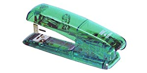 Charles Leonard Inc. Half Strip Stapler, Teal, 82023)