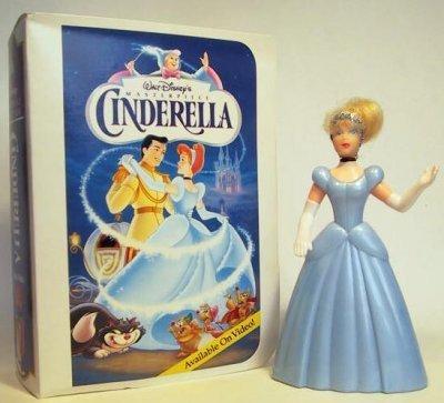 Cinderella Action Figure - 1995 McDonald's Walt Disney Masterpiece Collection Series - 1