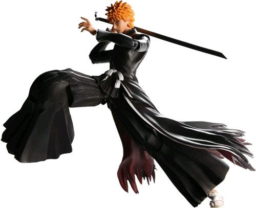 Bleach : Ichigo Kurosaki in Bankai Form Play Arts Kai Action Figure