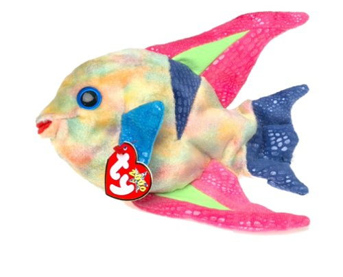 Ty Beanie Babies - Aruba the Angelfish. [Toy]