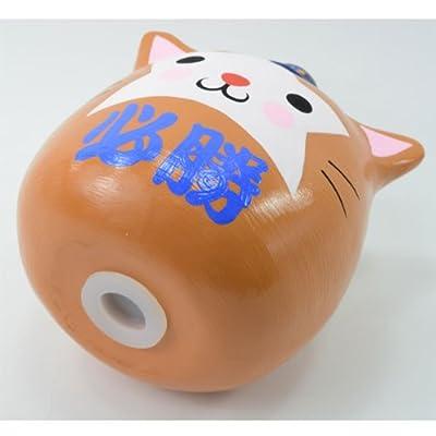 貯金箱 おもしろ だるま 横浜DeNAベイスターズ スターマンだるま型貯金箱
