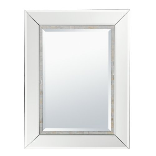 Kichler Lighting 78217 Chelle Beveled Mirror With Shell Inlay Accents front-942451