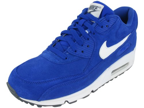 online store e83a0 f0ba2 Nike Men s NIKE AIR MAX 90 ESSENTIAL RUNNING SHOES 13 Men US HYPER BLUE  SAIL SAIL DARK GREY