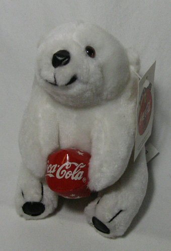 Coca Cola Bear  Ball 6.5in Plush Bear by Play-By-Play