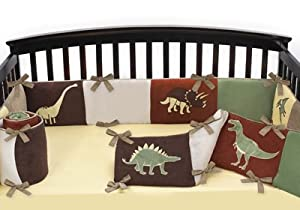 Dinosaur Baby Crib Bumper Pad by JoJO Designs