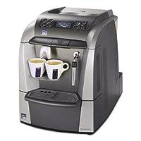 Lavazza 10080632 Blue 2312 Espresso/Cappuccino Machine, 1 gal Tank, Silver/Gray, 18.6' Width x 12.9' Depth x 15.4' Height