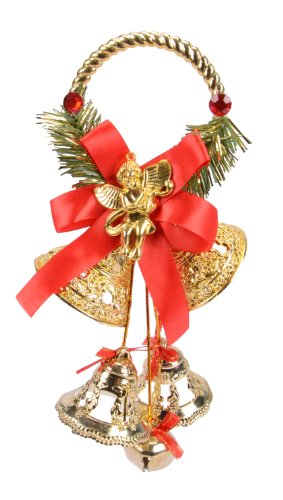 Cute Christmas/ X-mas Tree Ornament, Christmas Bells, Door Hanger