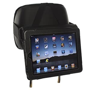 Snugg Car Headrest Mount Holder for iPad 2 / the New iPad