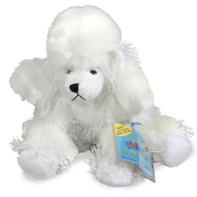"HM014 - 8.5"" WHITE POODLE Webkinz New Code Sealed With Tag"