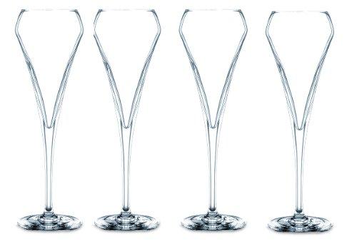 Chef & sommelier - d0907 - Lot de 4 verres à champagne 20cl OPEN UP
