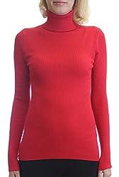 Dinamit Fashion Women's Chicago Turtleneck Sweater