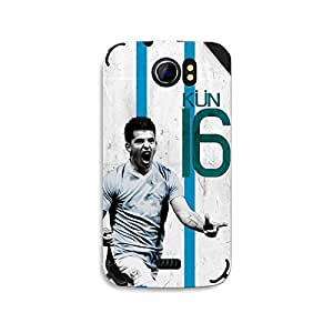 ezyPRNT Micromax Canvas 2 A110 Sergio Aguero 'KUN' Football Player mobile skin sticker