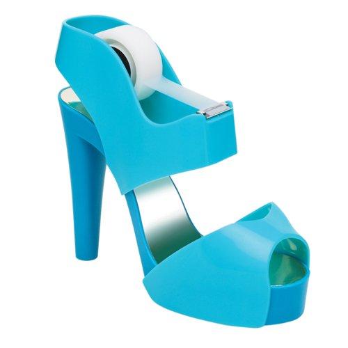scotch-brite-c30-sandal-portarollos-de-sobremesa-con-diseno-de-zapato-azul