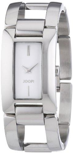 Joop  Marvello - Reloj de cuarzo para mujer, con correa de acero inoxidable, color plateado