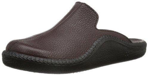Romika Mokasso 202 G, Pantofole uomo Rosso Rot (bordo 403) 49