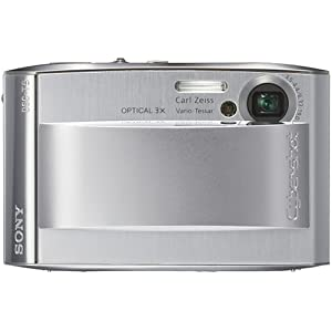 Sony Cybershot DSCT5 5.1MP Digital Camera with 3x Optical Zoom