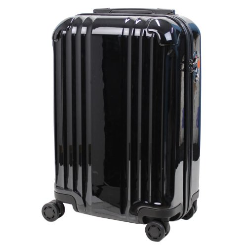 LEGEND WALKER スーツケース キャリーバッグ キャリーケース 4輪 TSAロック PC+ABS 鏡面仕上げ ダブルキャスター 搭載 32L (ワインレッド)