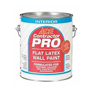 Latex Wall Paint Interior Flat Off White Base Gallon House Paint