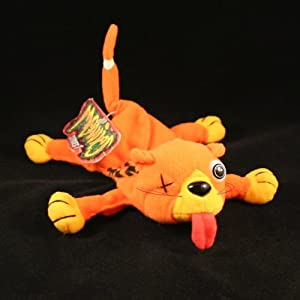 SPLAT THE ROAD KILL CAT * MEANIES * Series 1 Bean Bag Plush Toy From The Idea Factory