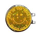 集光グリーンマーカー(オレンジ)キラキラ目立つからライ ンがわかる!コンペの景品に人気のゴルフマーカー ランキングお取り寄せ