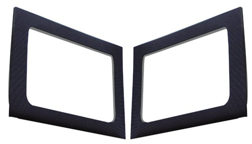 Dei 050149 Black Rear Side Window Sound Deadening Headliner For Jeep Wrangler 4-Door