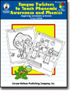 TONGUE TWISTERS TO TEACH GR. K-2 BEGINNING CONSONANTS and VOWELS