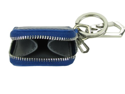 Marc By Marc Jacobs Marc by Marc Jacob Cube Coin Case w/ Keychain Royal Blue