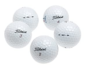 Titleist NXT Recycled Golf Balls, 36 pack by Titleist