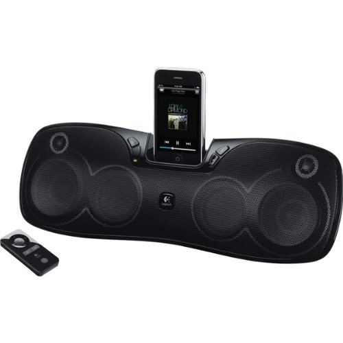 S715I Rechargeable Portable Speaker System With Ipod/Iphone Dock