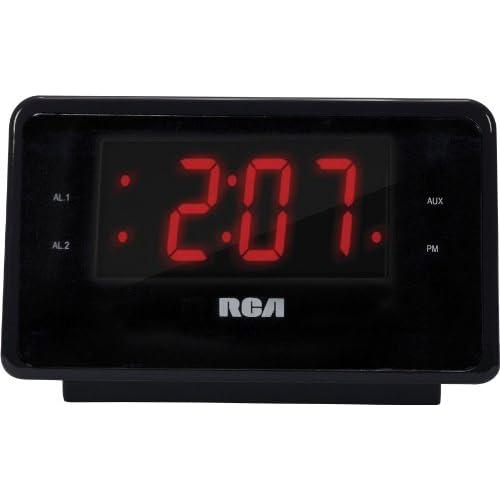 RCA RC127I Clock Radio for Charging iPhone...