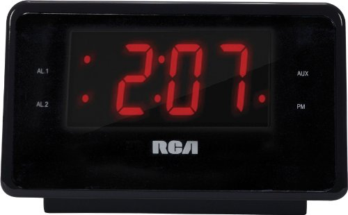 RCA RC127I High Quality Radio with Alarm Clock and iPhone Dock