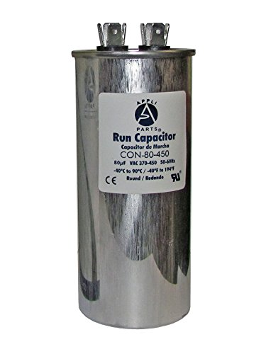RUN CAPACITOR 80 MFD uF 440V/450V ROUND CAN. UL Certified (Can Capacitor compare prices)