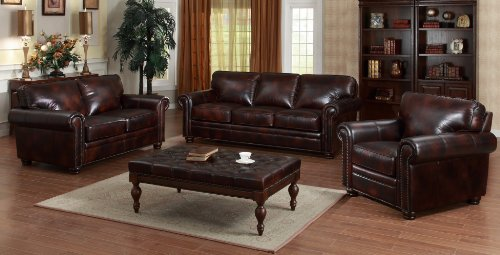 Best deals lazzaro 5050 with nails 4 piece living room set for Best living room set deals