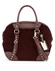 M&S Collection Domed Bowler Bag