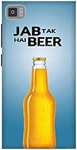 The Racoon Lean Jab tak hai beer hard plastic printed back case / cover for Xiaomi Mi3