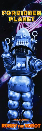Forbidden Planet Featuring Robby Robot Classic Sci Fi Science Fiction Movie Film Poster Print 12x36