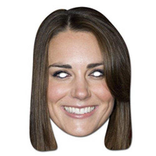 Sale alerts for Mask-arade Kate Middleton - High Quality Cardboard Face Mask - Covvet
