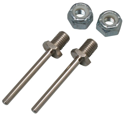 Great Planes 1-1/4x1/8 Bolt-On Axle (2-Piece)