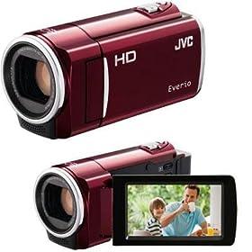 Everio Flash Memory Camera Red