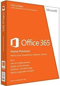 Microsoft Office 365 - Paquete Hogar, Para Windows, Para 5