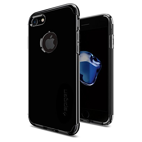iPhone-7-Case-Spigen-Hybrid-Armor-AIR-CUSHION-Jet-Black-Clear-TPU-PC-Frame-Slim-Dual-Layer-Premium-Case-for-iPhone-7-042CS20840